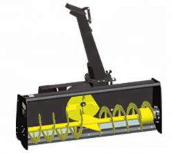 스키드 스티어 휠 로더용 미니 스노우 플라우 장비