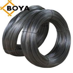 Bwg16 Bwg18 1.0/1.2/1.3/1.4/1.5/1.6/1.65mm Soft Black Metal de hierro el enlace de acero templado de alambre de amarre de 1 kg/1lb por rollo, 20kg/25kg/rollo o caja de cartón para la construcción