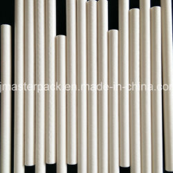 Bastoni bianchi del Lollipop della caramella della torta del documento del commestibile di colore