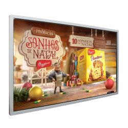 55 polegadas, leitor de Publicidade Digital Signage Displayer LCD da placa com função de menu