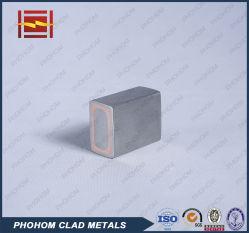 Bimetalen geleidingsstang met klem