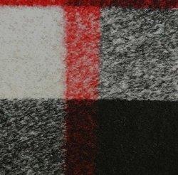 China-Manufaktur-Form-Entwurfs-Check-Pelz-strickendes Jacquardwebstuhl-Baumwollgewebe
