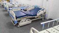 Bett-medizinische Krankenpflege-manuelles Krankenhaus-Bett der Krankenhaus-Möbel-ICU mit Examintation Lampe