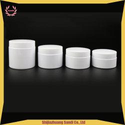 Из белого матового перед лицом Jar-Plastic мазь крем Jar - Косметический используйте кувшин блендера