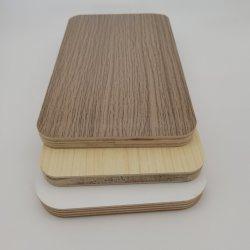 3-25mm Natutal de laminado de chapa de madera contrachapada de lujo para los muebles y decoración.
