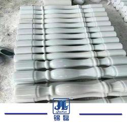Настраиваемые Baluster китайского белого мрамора камня на поручне