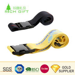 Venda por grosso China Design Personalizado a sua própria bagagem ajustável em branco as correias dos cintos de Maleta para venda