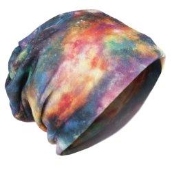 Galaxy колпачки Сублимация многофункциональных Multi-Type Мешковатых Slouchy Beanie Snood крышки