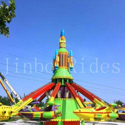 Le parc à thème à l'extérieur de l'amusement ride PRF matériel en acier Kids Le contrôle de soi des aéronefs pour la vente d'avion