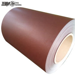 JIS la norme ASTM G550 RAL 9002 RAL 9024 Feuille d'acier galvanisé en roulis PPGI couché couleur pour la construction de la bobine