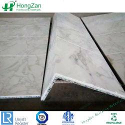 Piedra de granito para decorar los paneles de panal.