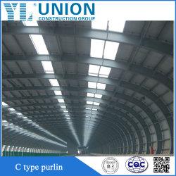 Fabricación de acero utilizado formados en frío de acero de forma Purline C