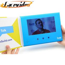 Лучшее качество жесткий футляр 7 дюймовый ЖК-экран TFT дисплей бизнес-Video Card Media Digital брошюра плеер для маркетинга приглашение