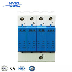 電光電源のT2太陽PV 1000V 40kaの低電圧DC SPDのサージ・プロテクター装置