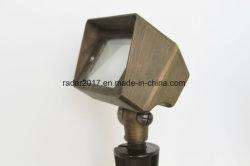 Projecteur en laiton Outdoor Spike Lampe à LED