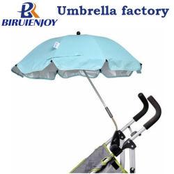Outdoor résistant aux UV Clip poussette de bébé Parasol parapluie avec bride réglable