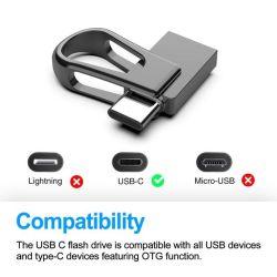 Étanche Type Mini-C Lecteur Flash USB 3.0 Memory Stick™