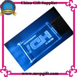 3.0 disco USB Crystal con illuminazione
