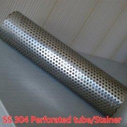 Panier en acier inoxydable perforées la crépine du filtre, Tube/tuyau perforé/filtre à tube de filtre pour l'automobile du tuyau de système d'échappement