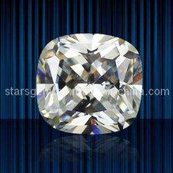 Forme carrée coussin Zirconia Cubique pour bijoux
