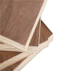 Black Walnut enfrentan el contrachapado de madera contrachapada de fantasía para muebles Material