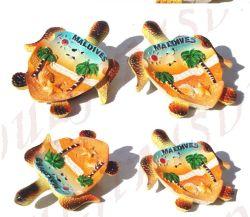 Souvenir de résine Polyresin Maldives tortue