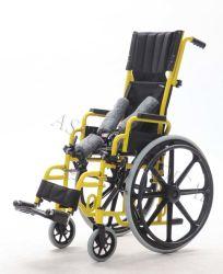 Manual de aço, cadeira de criança, cadeira de rodas (YJ-013J)