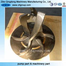 Ventola della pompa dell'acciaio inossidabile del pezzo fuso di investimento/acciaio al carbonio