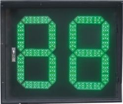 Timer voor aftellen van LED-lampjes van verkeerslichten 760X630 mm