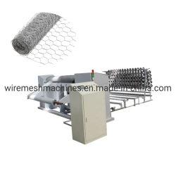 Hexagonal malla de alambre galvanizado electro/máquina La máquina de malla de alambre tejido hexagonal