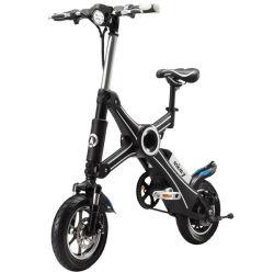 リチウム電池の電気バイクを折る電気自転車ブラシレスモーター350Wワット2の車輪の小型ポケット