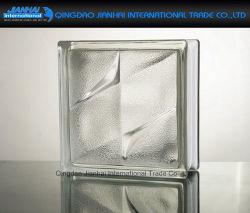 Bloc de verre creux bâtiment de briques de verre en cristal décoratif