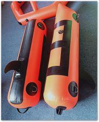 1,2Mm de espessura de tubos Pontão insuflável de PVC