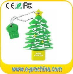 Unidade Flash USB de árvore de Natal para o presente de Natal (EG052)