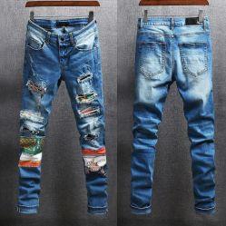 Comercio al por mayor jeans de mezclilla Comforable largo para hombres