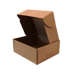 卸し売り注文の良質ブラウン Kraft のペーパーボードコルゲートボール紙のカートン 梱包用郵送箱