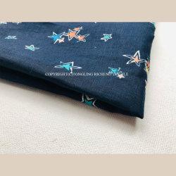 Fabricante Página inicial personalizada Digital Têxteis roupa de impressão tecido viscose para a roupa de uso doméstico