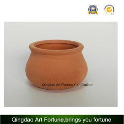 De openlucht-natuurlijke Houder van de Kaars--De Ceramische Pot van de klei met de Vorm van de Zwelling