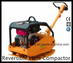 Compacteur de la plaque de 3 tonnes réversible avec moteur Honda Gyp-160