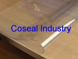 De transparante Mat van de Lijst van het Kristal van pvc Sheet/PVC Zachte