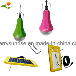 Accampamento esterno solare portatile di illuminazione del comitato solare della lampada di Emenergy