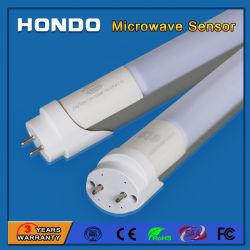Retrofit de eficiência energética T8 Luz do tubo do sensor de LED com Sensor de movimento de microondas do Radar