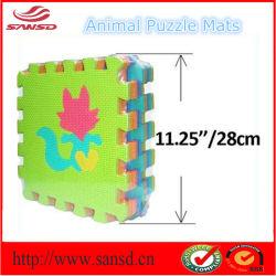 動物車の正方形は EVA のマットを形にする