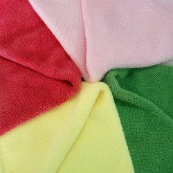 100% полиэстер ткань из микроволокна кухонные полотенца блюдо салфетки чистящие салфетки производителя