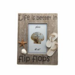 浜様式の記念品のギフトの木の写真フレーム