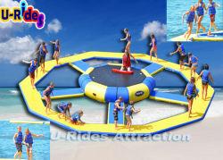 Parc aquatique gonflables gonflable Jeu de sports d'eau