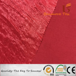Handfeel doux comme de la soie polyester Tissu pour les femmes robe en mousseline