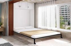 Стены кровать гостиная мебель складная кровать Мерфи