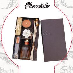 Ecológica de cartón de color café de aceite esencial de la fragancia de perfumes de aceite de masaje caja de embalaje