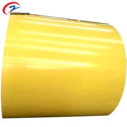 Az90 de alta calidad de aluminio con recubrimiento de color/bobinas de acero prebarnizado bobinas de acero Galvalume